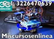 Curso de arduino presencial cel: 3226470639