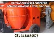 Somos fabricantes de mezcladoras para concreto