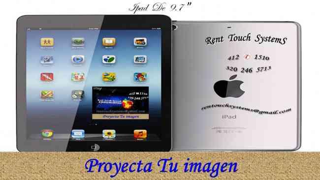 Alquiler De Pantallas Touch 320 246 5713 Monitor Tactil