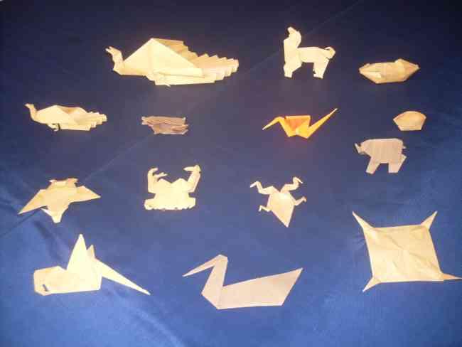 clases de ortigami  a domicilio en cali, doblado de papel.