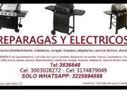 Reparacion de asadores a gas, bbq a gas tel: 3836846