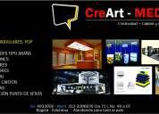 Productos de publicidad y servicios para su negocio