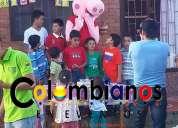 Personajes fiestas infantiles pepa pig 3132261736 cajica cota tabio tenjo