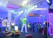 Alquiler de luces para orquestas en barranquilla