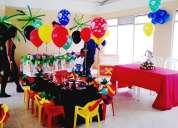 Fiestas infantiles-recreacionistas-recreacion dirigida