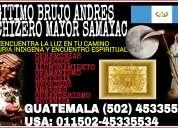 Santero y brujo indigena de samayac