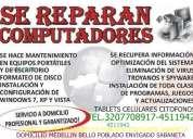 reparacion computadores citofonos tablets celulares