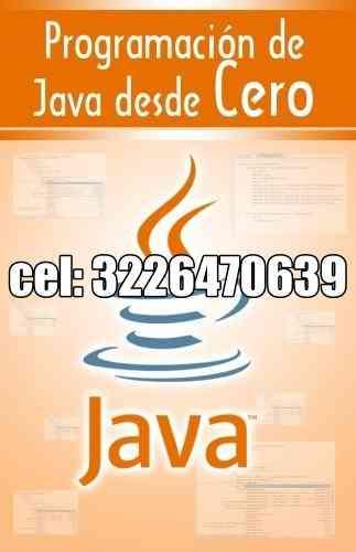 Curso de java en video tutorial cel: 3226470639