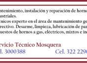Reparación y mantenimiento de hornos. tel.3000388
