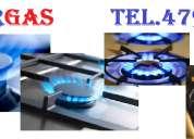 Mantenimiento de calefactores de ambiente a gas. tel. 4794380