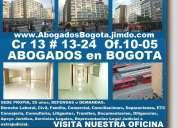 OFICINA DE ABOGADOS ,ATENDEMOS  EN TODO COLOMBIA