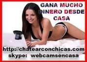 Trabajo si hay! buscamos modelos webcam