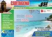 Paquetes super promocional a cartagena y santa marta