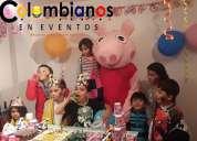 fiestas infantiles pepa pige 3132261736 chia cota tenjo tabio