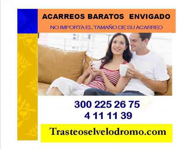 ACARREOS ECONÓMICOS ENVIGADO