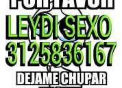 Leidy adicta al sexo gratis 3125836167