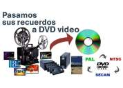 Transferimos sus peliculas de rollo 8mm - 16mm y video 8 a dvd