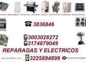 Estufas, hornos, calentadores, freidores, asadores 3836846