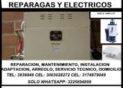 Reparacion de estufas a gas, electricas,cali
