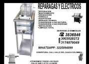 Calentadores a gas, calentadores electricos,t: 3836846