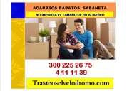 Trasteos econÓmicos en sabaneta 4111139-3002252675