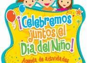 Celebra con nosotros el dia del niÑo.