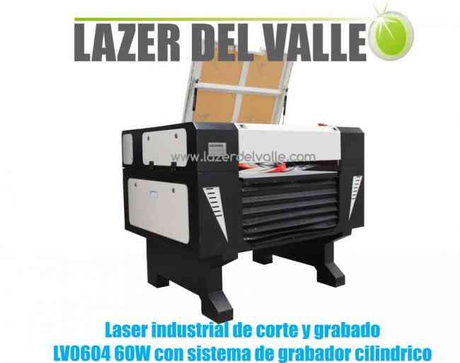 Máquina industrial láser LV 0604