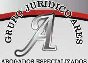 Grupo jurídico ares. abogados especializados en derecho. medellín.