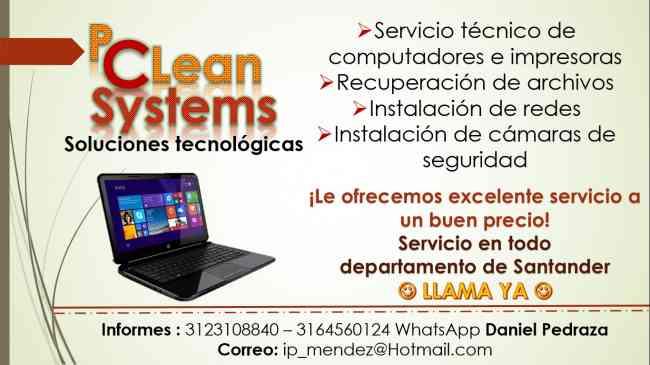 Servicio técnico de computadores e impresoras Bucaramanga