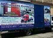 Trasteos ,traslados y mudanzas a nivel nacional y local