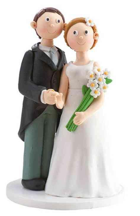 figuras para bodas en fondant