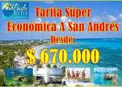 Tarifa economica a san andres islas