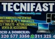 Tecnifast cali reparacion de pcs, tablets y celulares