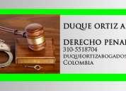 Abogados en neiva de tipo penal denuncias y defensa