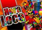 Cantantes la hora loca shows artistas minitecas medellin