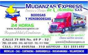 Mudanzas y bodegas en colombia