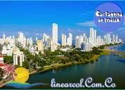 Planes y turismo con la agencia de viajes linearcol