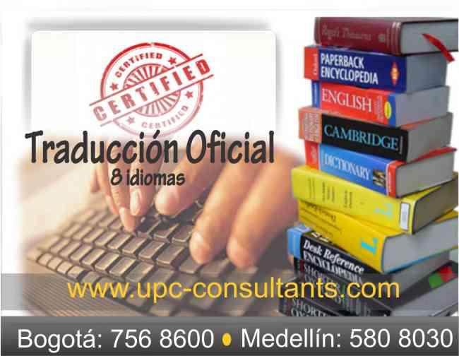 traducciones de todo tipo de documentos / Oficial y técnica/ Tel: 7568600*