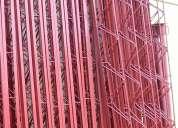 Cercha metalica para la construccion