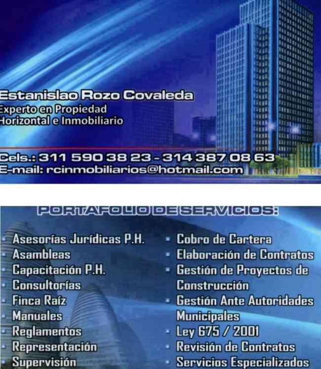 R.C.I Inmobiliarios- Servicios para Propiedad Horizontal