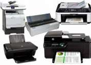 Mantenimiento de impresoras bogota