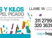 Kilos y kilos de papel picado