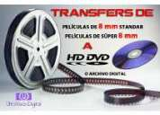 Transfer a dvd - betamax - super 8 - 16mm - vhs - 8mm - video 8