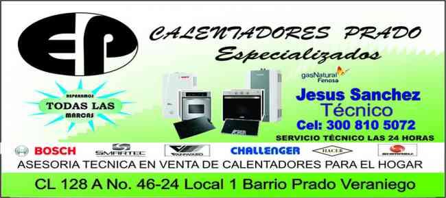 MANTENIMIENTO DE CALENTADOR,SUECO,CHALLENGER,3008105072 CIUDAD JARDIN