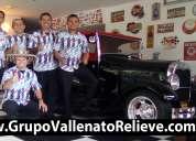 Grupo vallenato relieve bogotá y alrededores | parranda vallenata