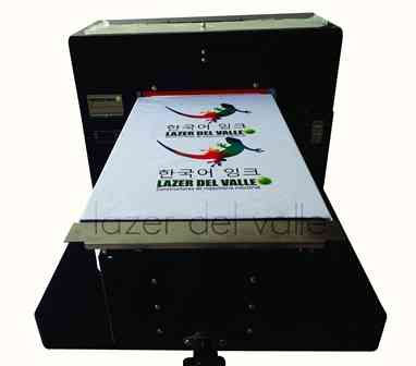 Maquina impresora de camisetas DTG en Cali