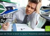 Domicilio. servicios especializados de limpieza de automóvil