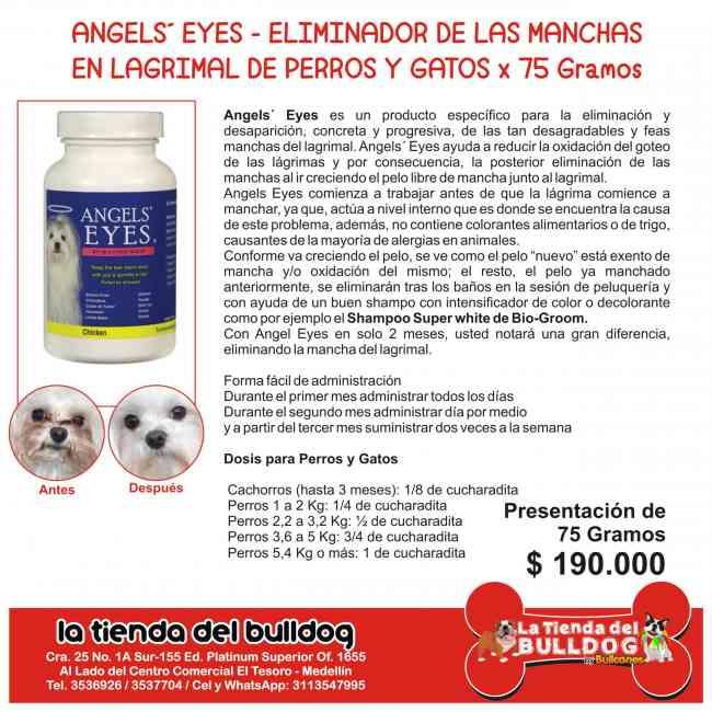 Angels´ Eyes Eliminador de Manchas en lagrimal de Perros y Gatos