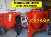 Mezcladoras para concreto y andamio tubular estándar