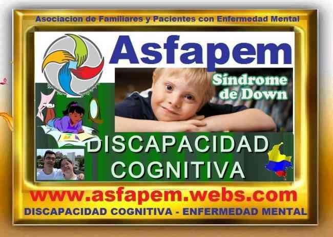 FUNDACION ASFAPEM, Sindrome de Down, Discapacidad Cognitiva, Enfermedades Mentales, Salud Mental
